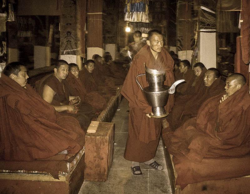 Monks ceremony