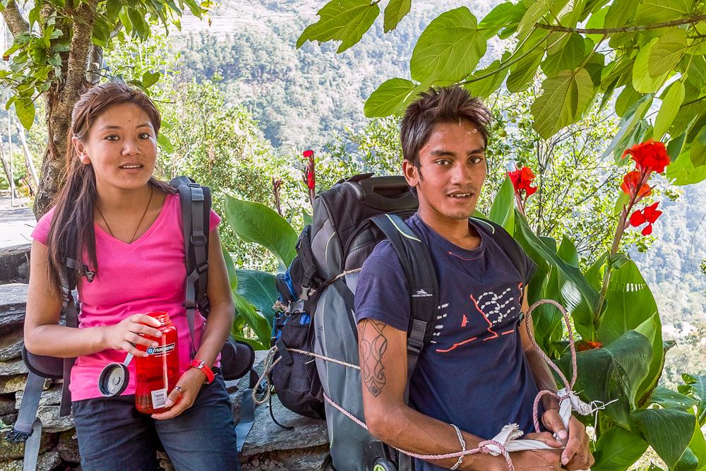 Ang CeCi Sherpa and Bishnu