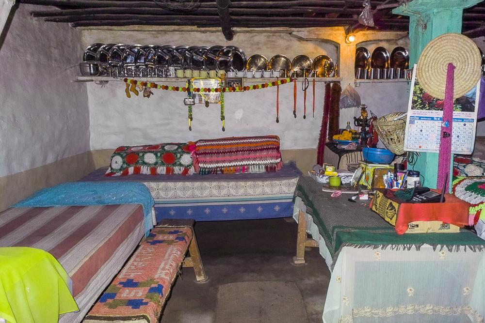 Mountain village room