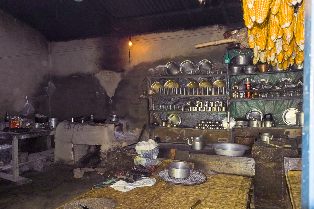 Mountain village kitchen