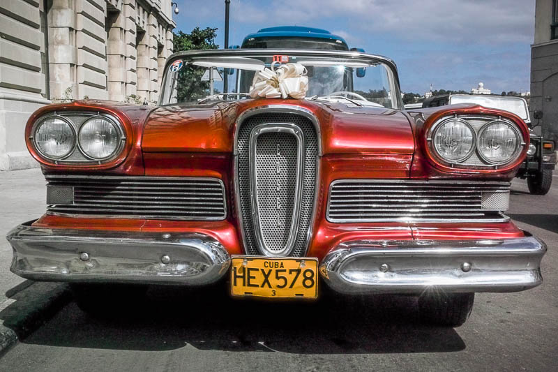 Vintage car, Cuba