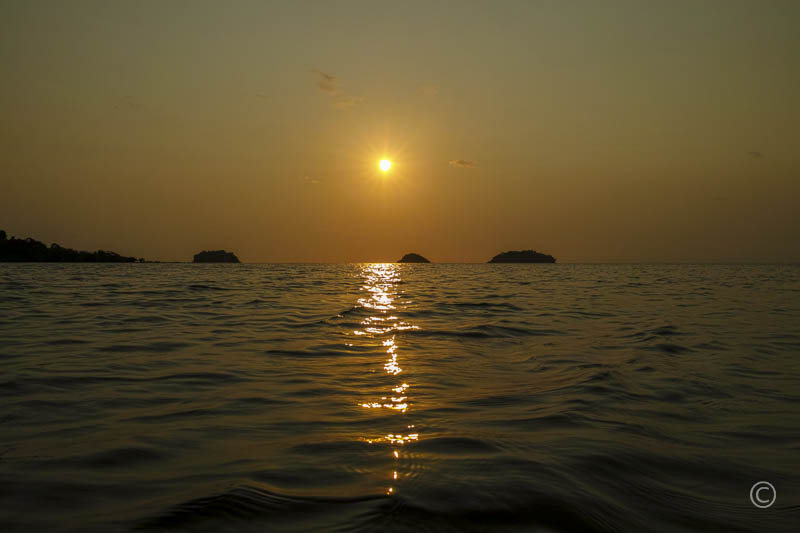 Kai Bae Beach Sunset