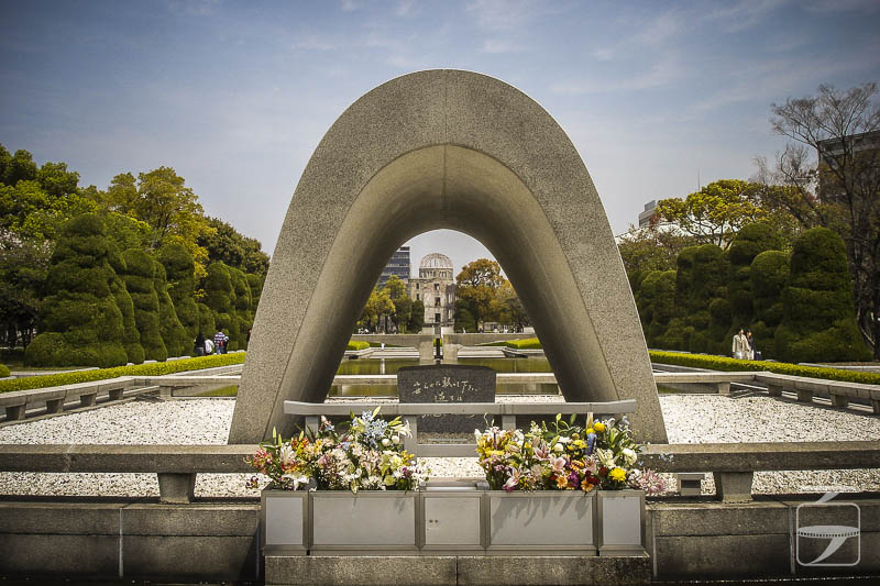 Hiroshima Peace Park Cenotaph