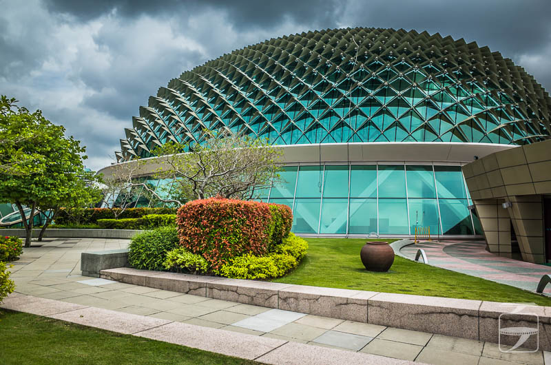 Singapore architecture: The Esplanade