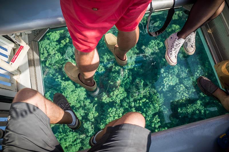Crystal gondola bottom