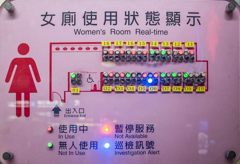 Taipei toilet status