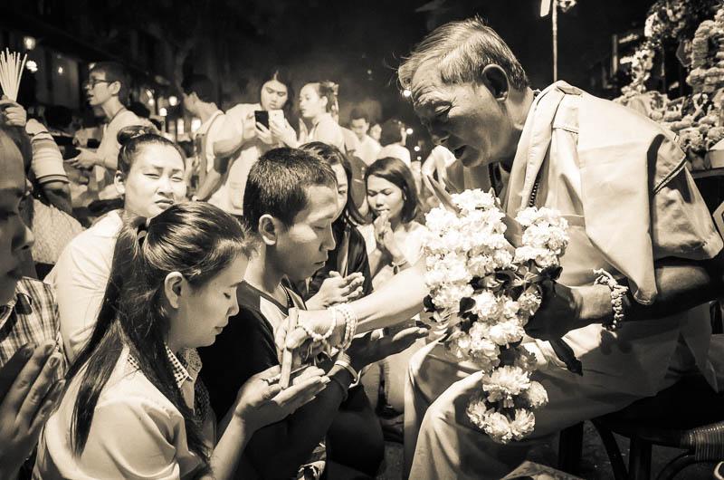 Blessing ceremony