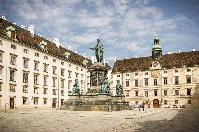 Hofburg Palace courtyard