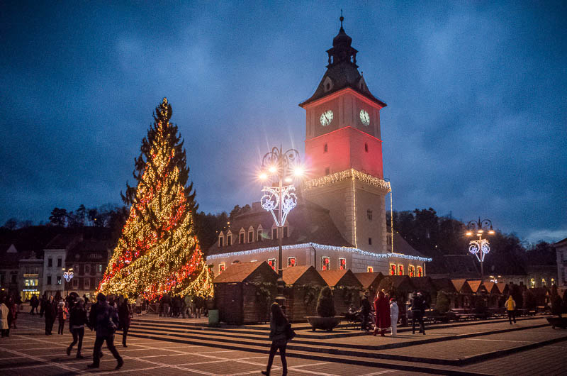 Brasov Christmas Market – The Council Square