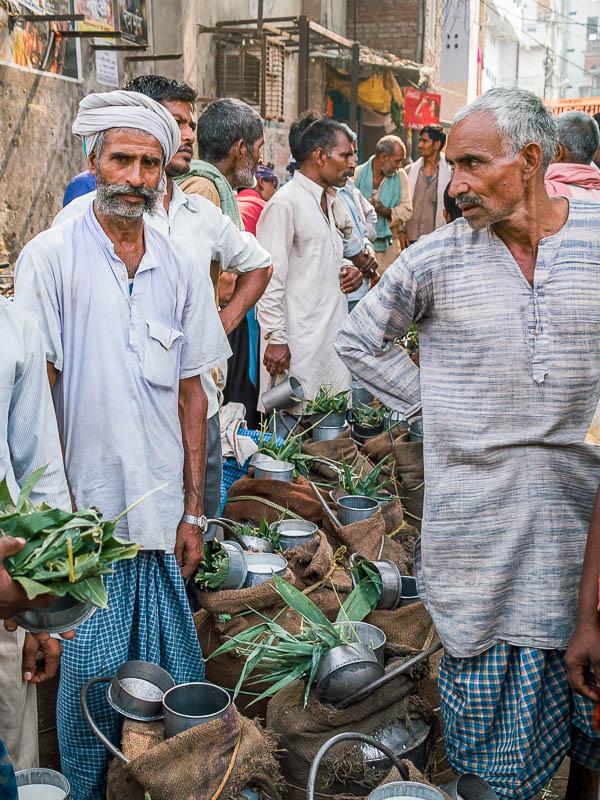 Milk sellers, Varanasi