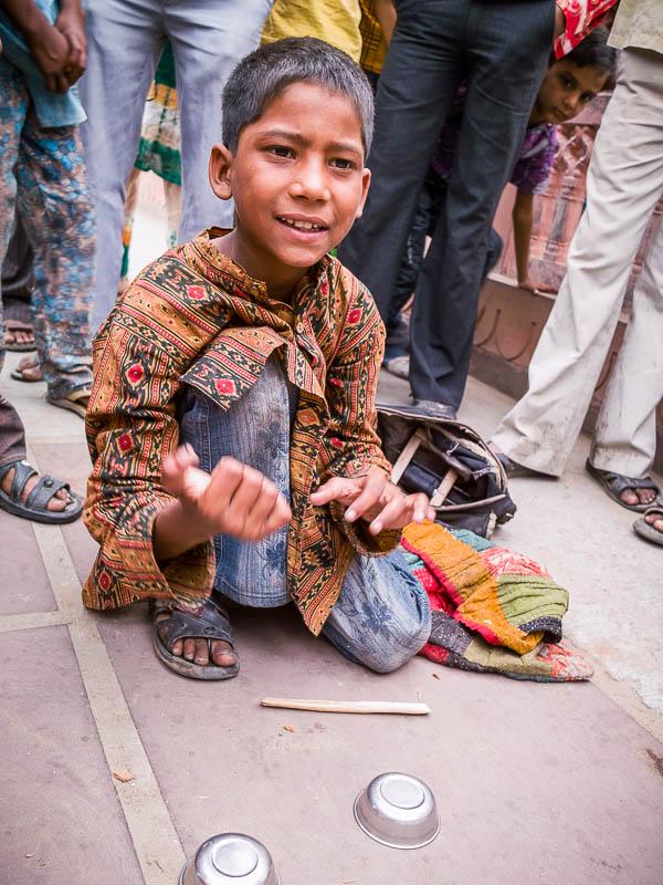 Amazing magician in Jaipur