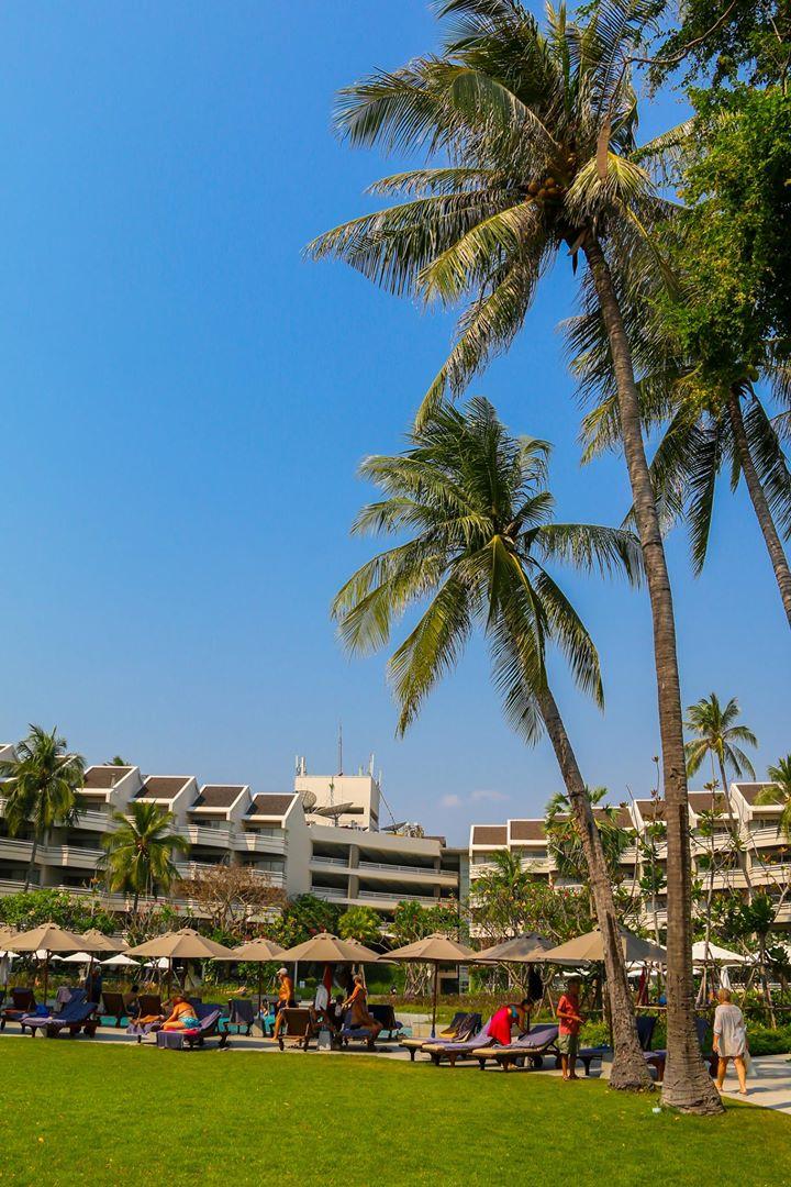 Regent Cha-am beach resort. Cha-am Thailand