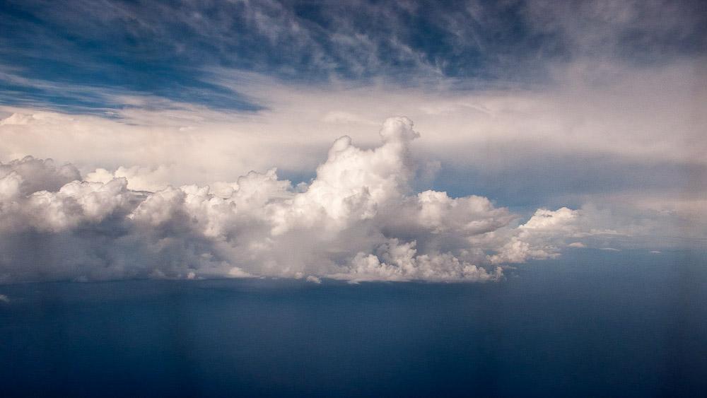 Clouds over Okinawa