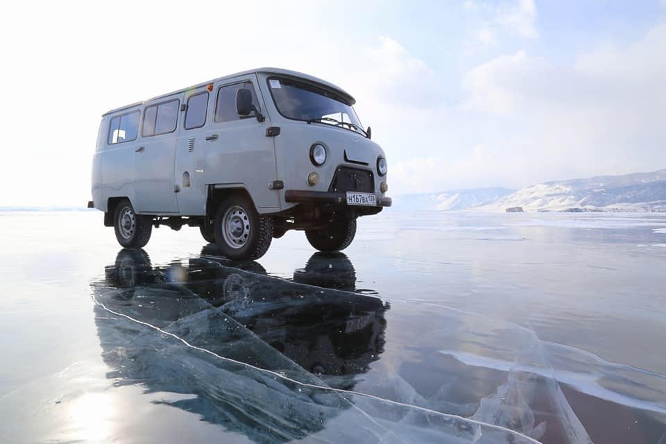 Tour van, Lake Baikal