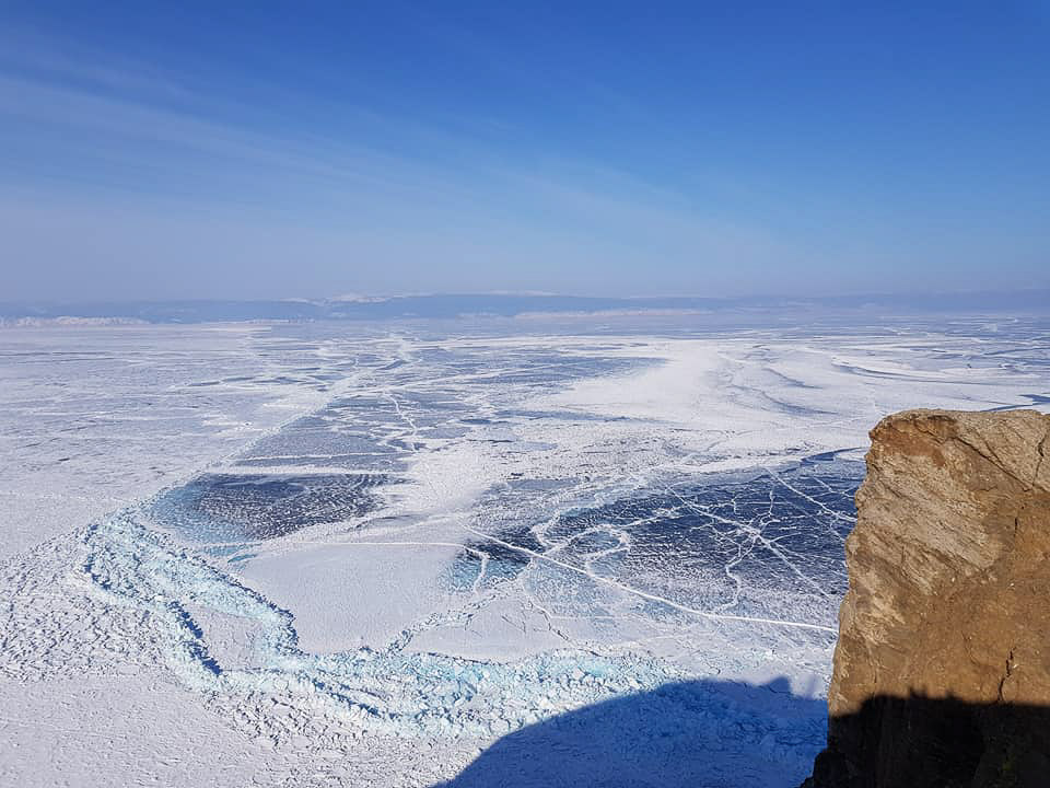 Lake Baikal. winter