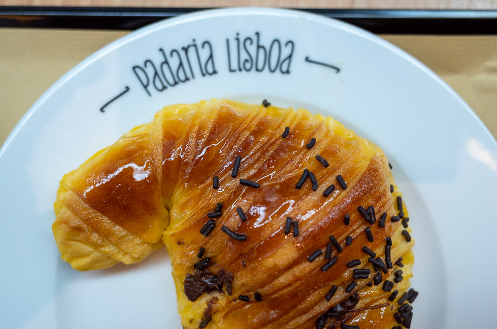 Padaria Lisboa croissant