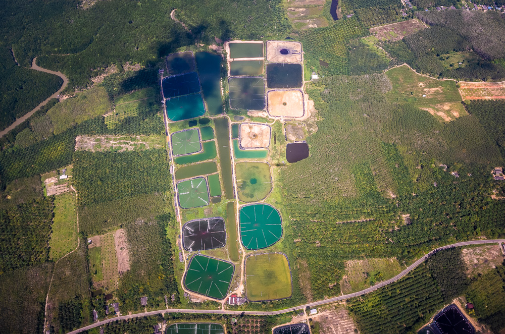 Krabi aerial view