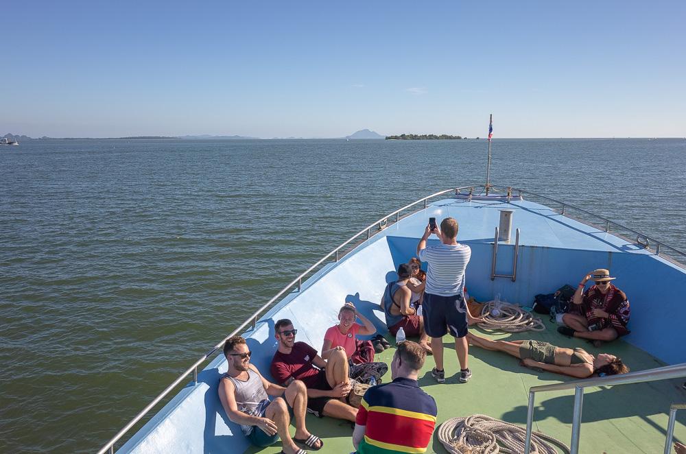 Sailing in the Andaman Sea