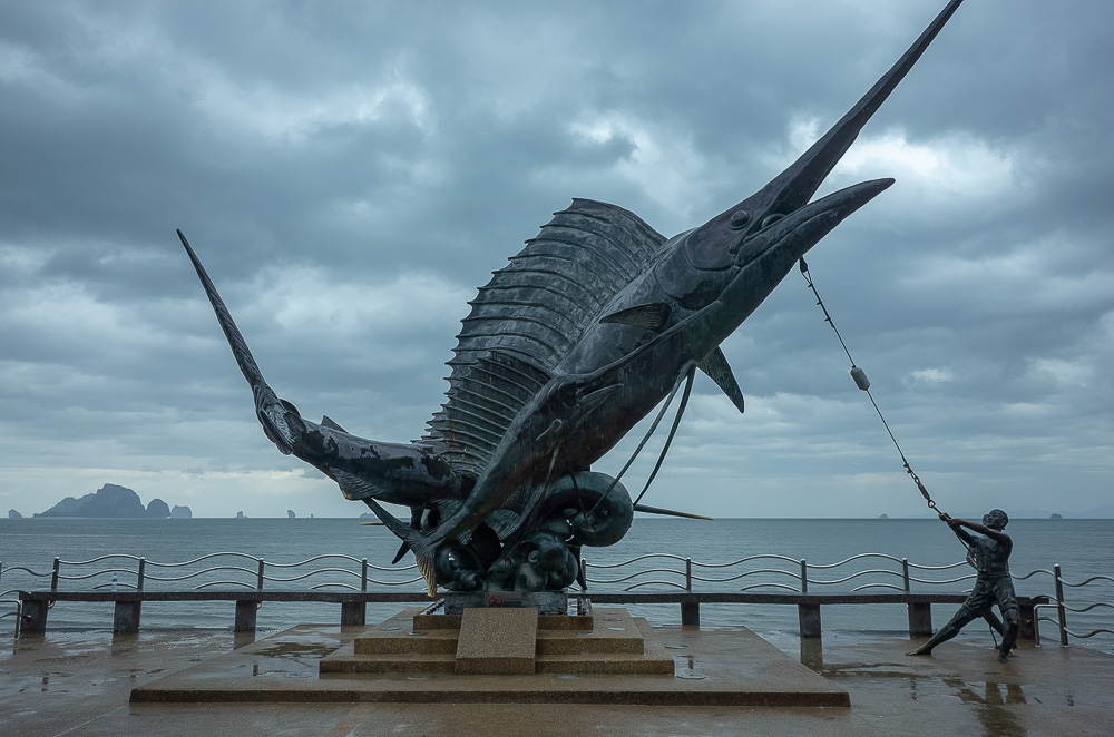 The fishermen monument, Ao Nang