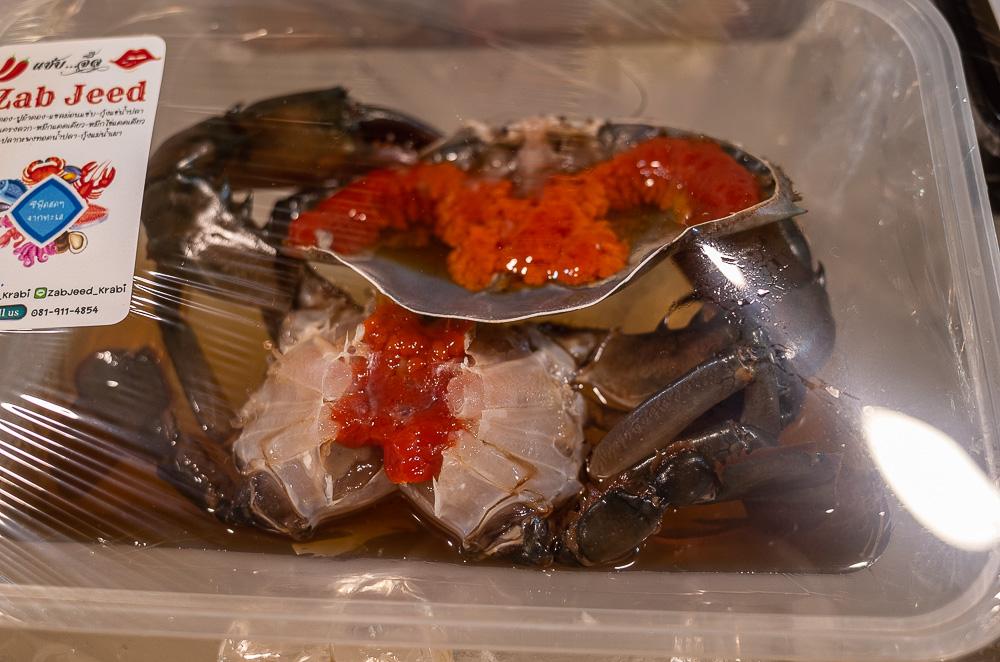 Crab eggs