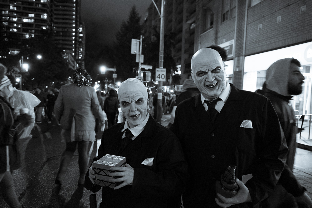 Spooky Night in Toronto