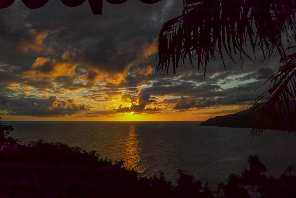 Brisas los Galeones sunset