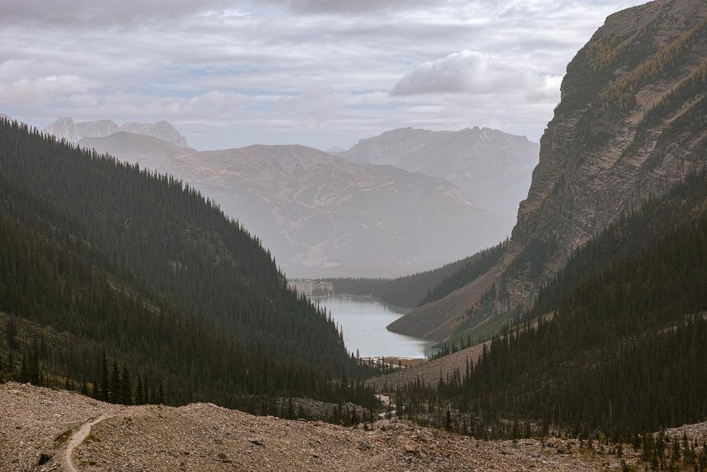 Lake Louise panorama